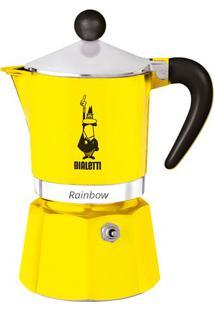 Cafeteira Bialetti Rainbow Amarelo 3 Xícaras - 29954