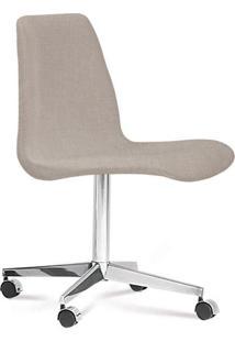 Cadeira Eames Loft Bege