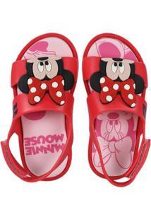 Sandália Infantil Grendene Mickey Minnie Feminina - Feminino