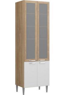 Paneleiro Argila Fosco Texturizado Branco Texturizado Moldura Argila Com Vidro