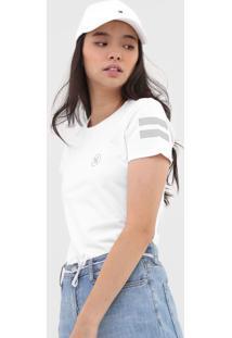 Camiseta Hurley Block Branca