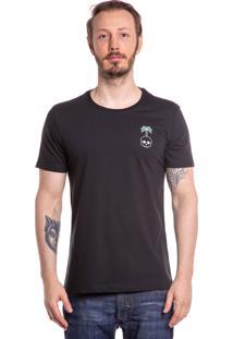 Camiseta Iven Caveira No Fear Just Freedom Preta