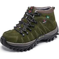 Coturno Adventure Verde masculino   Shoes4you b39fbd942f