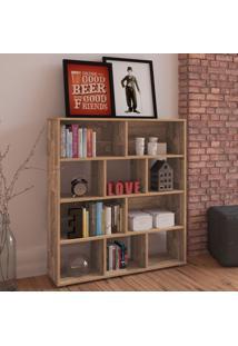 Estante Para Livros Book Rustico - Artely