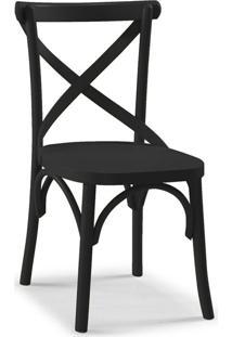 Cadeira De Jantar X Preta