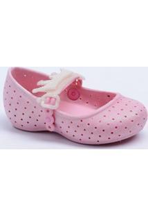 Sapatilha Infantil Bebê Coroa Brilho Plugt 90027
