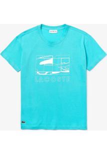 Camiseta Lacoste Sport Azul