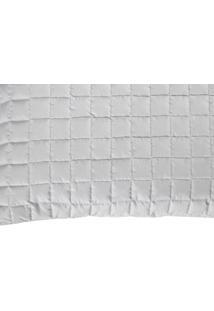 Porta Travesseiro Top Line 180 Fios Confortável Macio Cinza