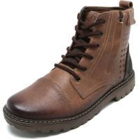 cf1d977c3 Coturno Pegada Ziper masculino   Shoes4you