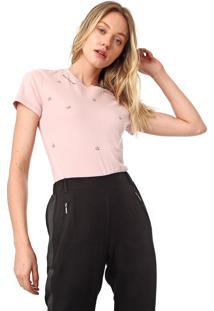 Camiseta Calvin Klein We Love Rosa