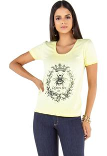 T-Shirt Camiseta Latifundio Queen Bee Verde