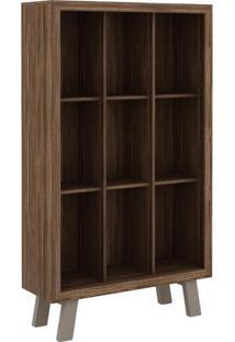 Armário Biblioteca- Nogal & Fendi- 155X90X31,5Cmtecnomobili