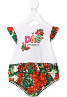 Dolce & Gabbana Kids Body Love Is Love - Branco