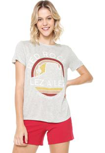Camiseta Lez A Lez Estampada Cinza - Kanui