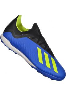 d395a1bdd3 Chuteira Esportiva Azul Listras | Shoes4you