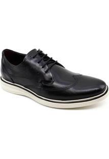 Sapato Oxford Democrata Metropolitan Bay 273102 Masculino - Masculino-Preto