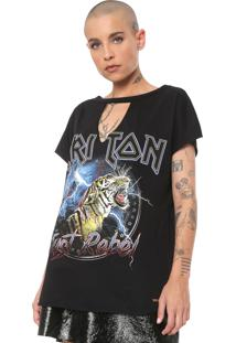 Camiseta Triton Just Rebel Preta