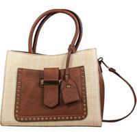 Bolsa Loma Textura feminina   Shoes4you 8b73c1cc64