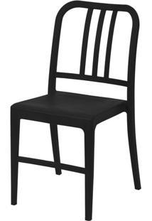 Cadeira Navy Polipropileno Preta - 43092 - Sun House