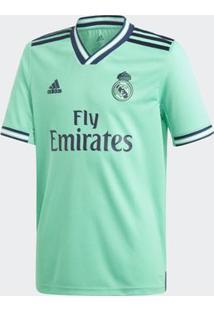 Camisa Adidas Real Madrid 2019/2020 Iii Infantil Verde