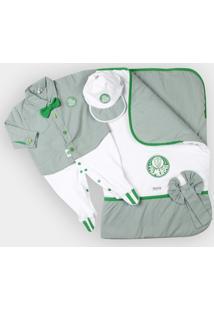 Kit Maternidade Camisa Palmeiras Bebê - Masculino