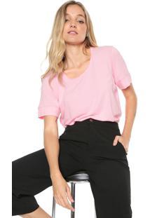 Camiseta Forum Ampla Rosa