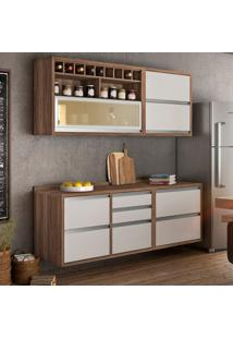 Cozinha Baronesa Completa - 4 Peças - 500218 - Branco - Nesher