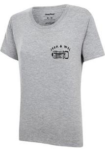Camiseta Especial Jeep E Wsl Wrangler Trip Feminina - Feminino