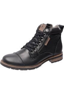 Bota Mega Boots 8008 Preto