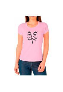 Camiseta Feminina Algodão Básica Leve Macia Confortável Rosa