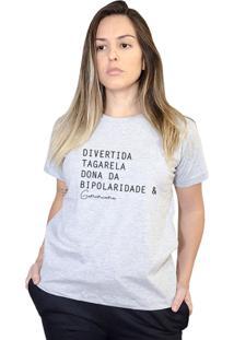 Camiseta Boutique Judith Geminianas Cinza