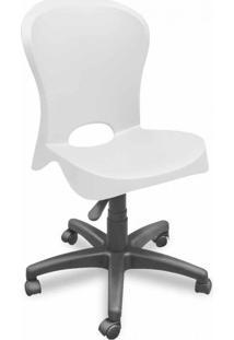 Cadeira De Escritório Secretária Jolie Branco