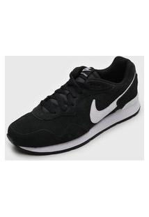 Tênis Nike Sportswear Venture Runner Suede Preto/Branco