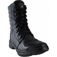 c421992cda Bota Motociclista Atron Shoes Cano Médio - Masculino