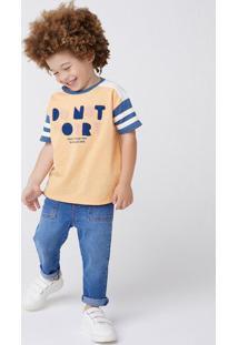 Calça Jeans Infantil Menino Reta Toddler