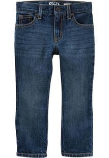 Calça Infantil Carter'S Bootcut Jeans Tumbled Masculino - Masculino-Azul