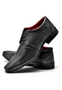 Sapato Social Masculino Asgard Com Cadarço Db 804Lbm Preto