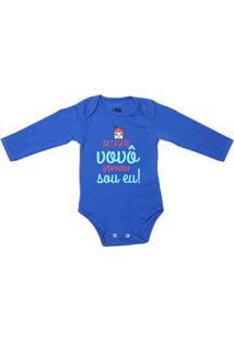 Body Flik Infantil Para Bebê Menino Azul