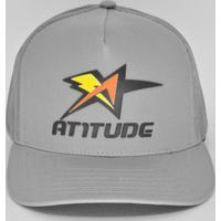 ac590266fd Atitude Esportes. Boné Atitude Esportes Aba Curva