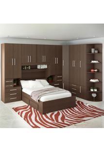 Dormitório De Casal Completo 1222 Noce Málaga