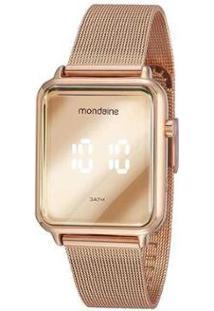 Relógio Mondaine Digital - 32171Lpmvre2 Feminino - Feminino-Rose Gold