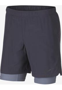 "Shorts Nike Challenger 2In1 7"" Masculino"
