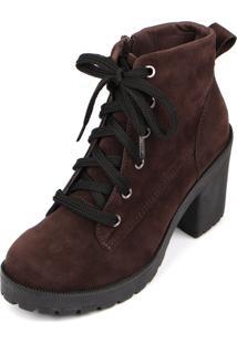 Bota Trivalle Shoes Tratorada Tendenza Marrom
