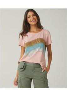 Camiseta Feminina Sidewalk Luana - Feminino-Rosa
