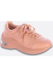 Tênis Feminino Chunky Sneaker Pedraria Zatz