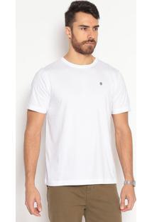 Camiseta Lisa Slim Fit - Brancaindividual
