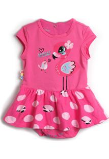 Vestido Zig Zig Zaa Flamingo Rosa