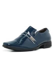Sapato Social Verniz Confort Elegance