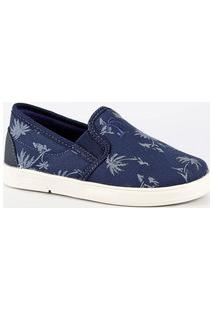 Tênis Infantil Slip On Estampado Mr 78089Ma207