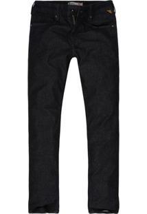 Calça Khelf Calça Masculina Jeans Reta Azul Marinho